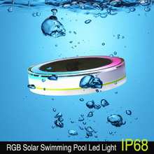 Colorful and RGB Swimming Pool lights Floating Lights on the Water with Remote Control from ESHINE Design 2016