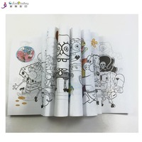 fashion design drawing books printing,coloring books printing