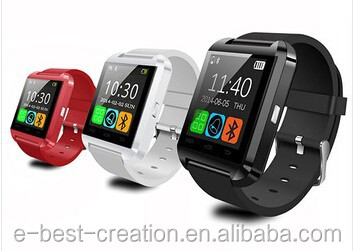 2014 U8 Android bluetooth bracelet smart watch for ios and android systems.
