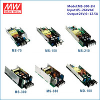 Mean Well led module paralleble single output MS-300-2H 24V 300W ac power supply