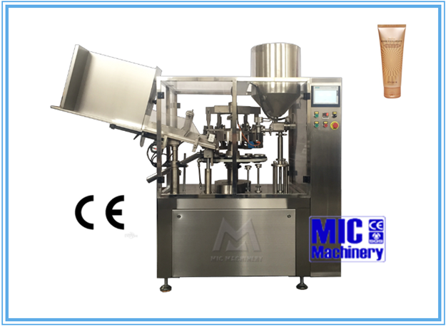 New condition CE approved Micmachinery MIC-R60 full-automatic silica gel filling machine