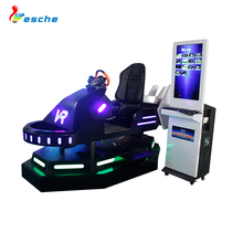 Indoor amusement game machine racing car simulator driving video 9d vr 9d games