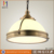 Hot selling electric metal acrylic carved modern pendant light