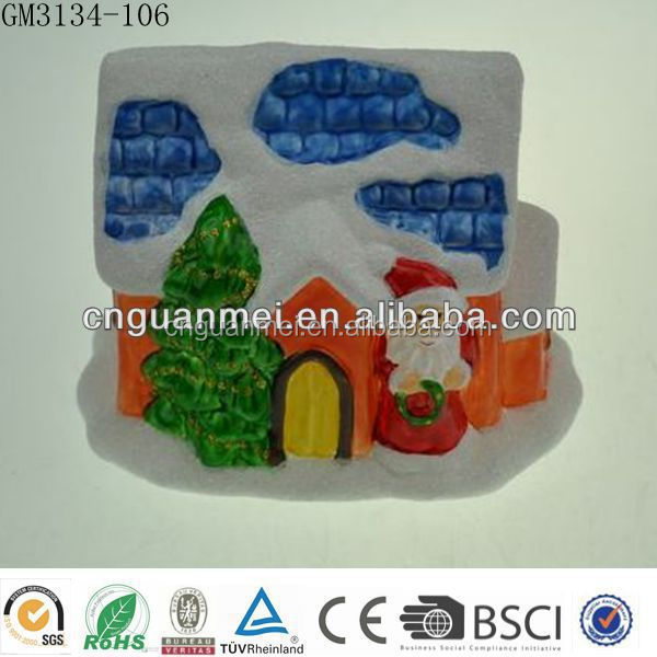 light up glass house for christmas decoration