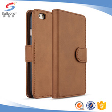 Factory selling flip leather case cover for iphone6