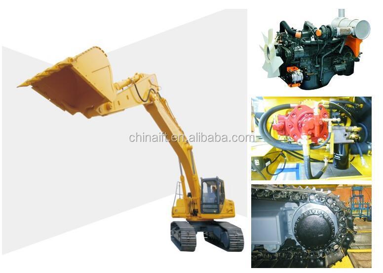 21Ton RC Hydraulic SE210 Crawler Excavator For Sale Digger Thumb
