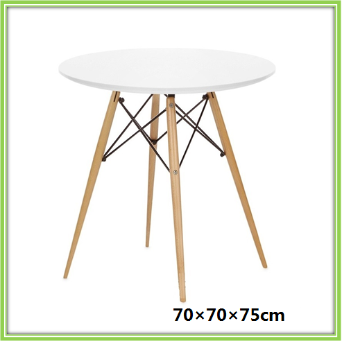 White Wood Dining Table Designs With Solid Wood Legs