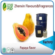 liquid and pure food grade papaya flavour and fragrance, artificial papaya essence flavor