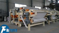 High quality waste water and sludge treatment processing equipment-DY 750/1000/1250/1500/2500 belt filter press price.