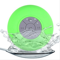 2015 new bathroom big sucker 5 grade waterproof wireless mini bluetooth shower speaker