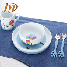 Hot sale fda ceramics kids dinner set