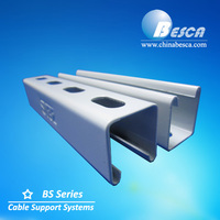 steel channel sizes / stainless steel unistrut channel/galvanized steel c channel