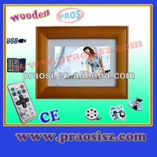 2012 Hot Sale 7 Inch Digital Photo frame with clock,Calendar,Timing switch,Autoplay movies,Video,etc