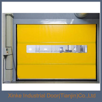 Industrial plastic roll up door/ fast rolling door / rapid rolling shutter door HSD-091
