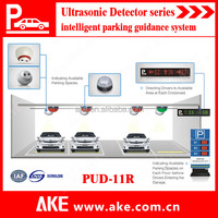 2015 Car Parking Guidance System with ultrasonic sensor and LED indicator