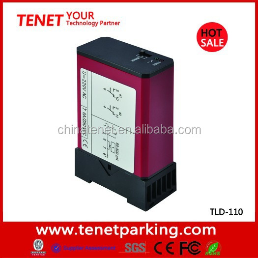 Hot sale Best price single loop detector for parking system from shenzhen tenet