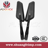 SF081 rearview mirror blue glasses,universal cnc aluminum mirror sliver,motorcycle scooter motorbike racing bike side mirrors