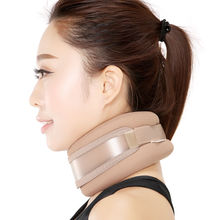 Decompression Cervical Belt Fully Flannel Inflatable Traction Household Neck Protective Device