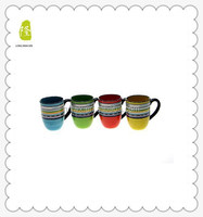 Certified International 'Santa Fe' 11-oz. Mug With Colorline Printing