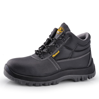 2018 Best Selling Safetoe Brand Leather Safety Boots Wholesale Man Construction Safety Shoes Steel Toe Cap