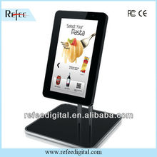 15.6 inch advertisement product ipad style for wall mount,goods shelf, table player