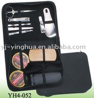 manicure set with shoe polish kit