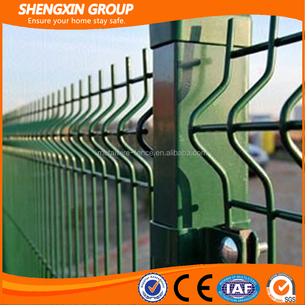 ISO certified 50 x200mm hole and 5mm wire diameter 50x200mm 50x200 welded wire mesh fence garden fence