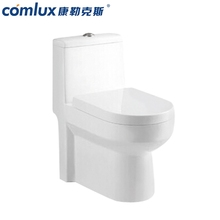 Cheap elongated cyclone flushing floor mounted one piece toilets toto sanitary ware in cheap price