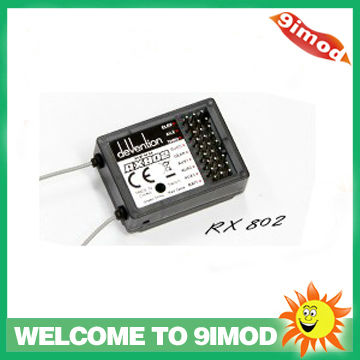 Walkera RX802 2.4GH 8CH Standard Receiver for Walkera Devo 6 / 6S / 7 / 8 / 8S / 12 / 12S Transmitter