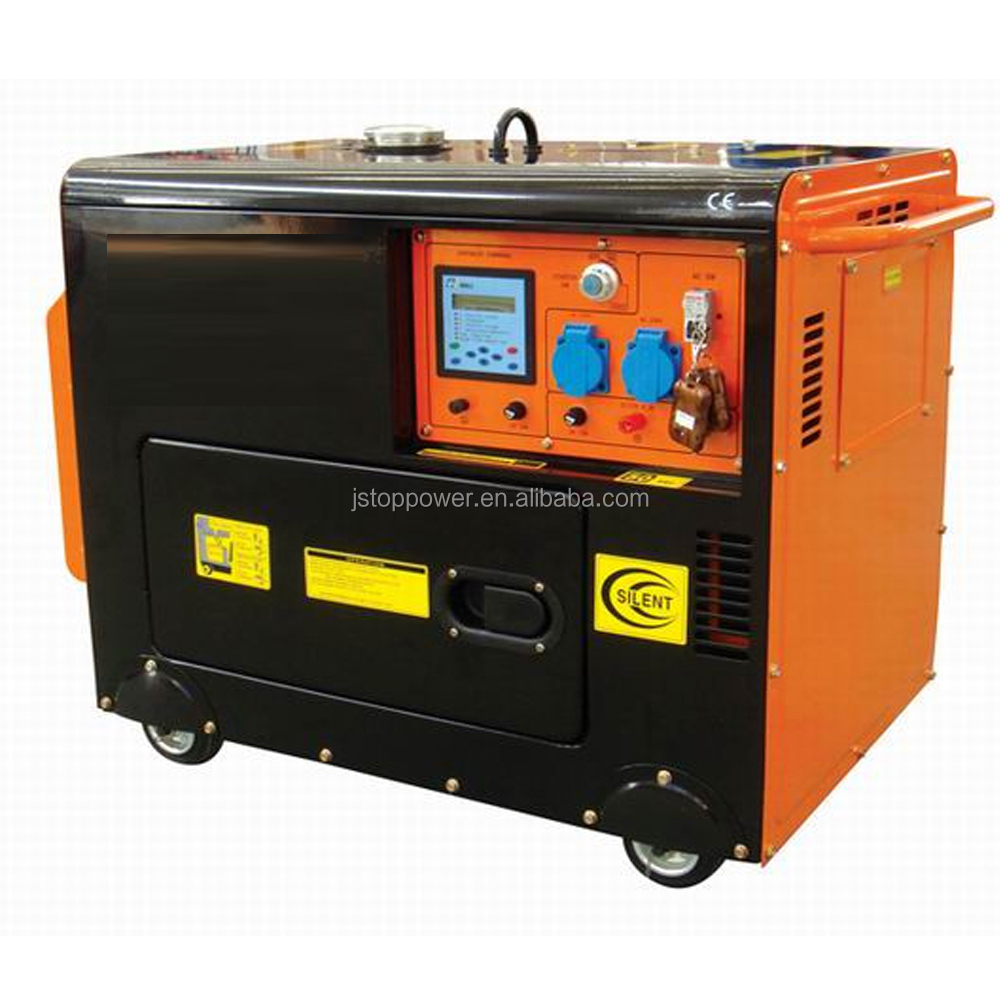 TOPOR CHINA JIANGSU High Quality Hot Sale Fast Delivery 7KW Silent Diesel Generator South Africa