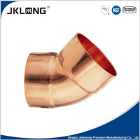 UPC NSF copper fitting, 45 degree copper elbow for plumbing pipe