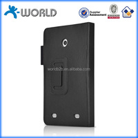 Handheld with stand card slots OEM logo leather waterproof case for tablet