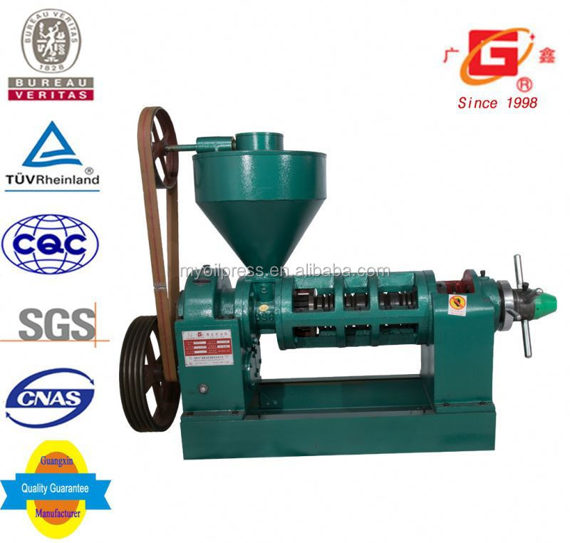 oil refinery groundnut oil cold extraction machine