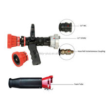 Pistol Grip Adjust Flow Fire fighting Jet / Spray Nozzle