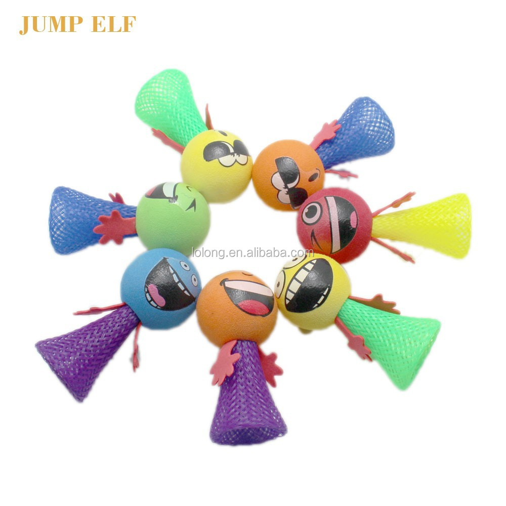 OEM design Kids cheap small promotion toys EN71 small elf jump toys children indoor fun jump elf yiwu toys