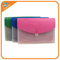 Hot sale colorful plastic pp expanding file folder, expanding file wallet for school stationery