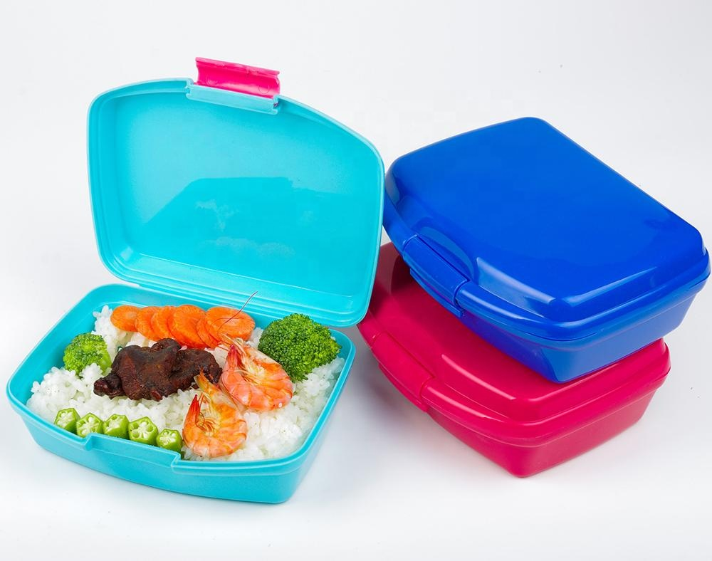 B10-0712 Best Price Coca Audited Factory Lunchbox <strong>Plastic</strong>