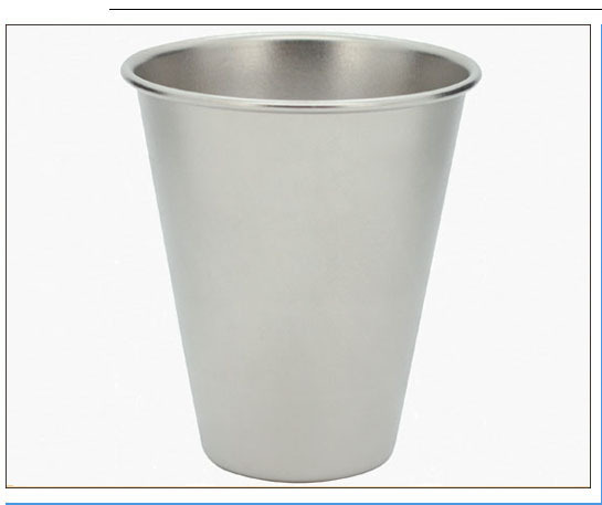 camping matte surface ultralight titanium beer mug cup