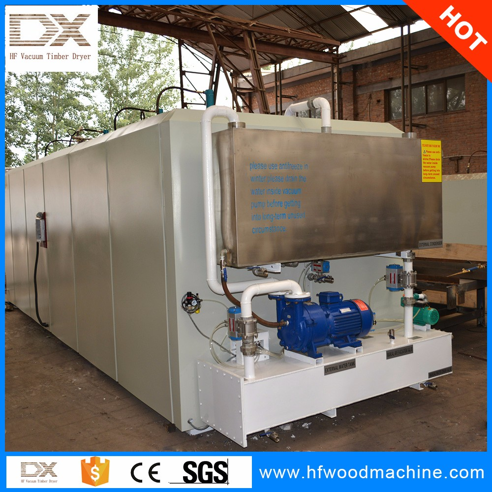 Wood kiln drying machine/ high frequency vacuum wood dryer