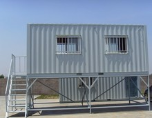 Modified shipping container as homes