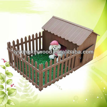 offering style design wood plastic composite wpc pet house