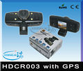 "HD1080p 1.5"" LCD wide angle 120 degree car video recorder HDCR003 with GPS"