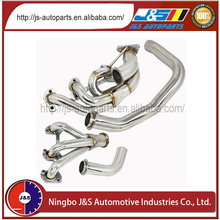 Racing exhaust header factory muffler headers