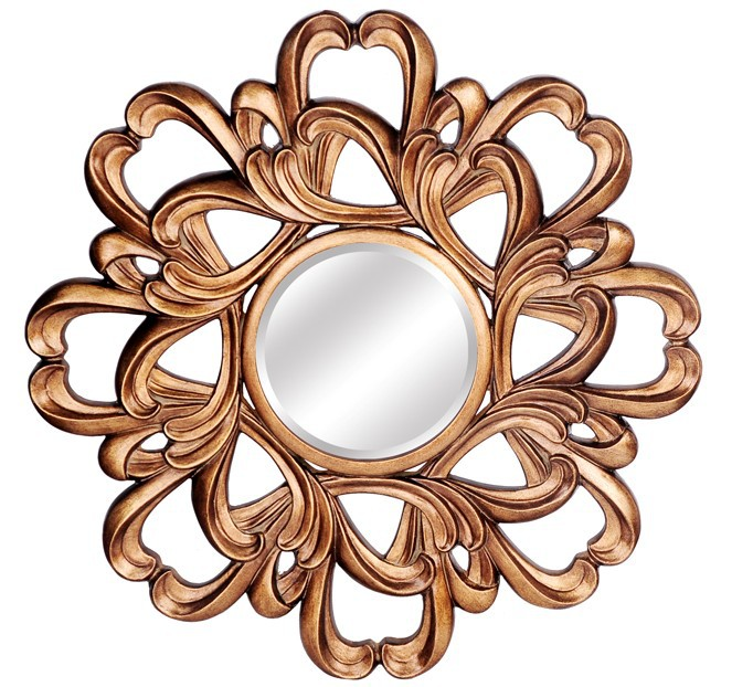 decorative rustic mirrors frame polyurethane,frames for large mirrors,mirror rococo