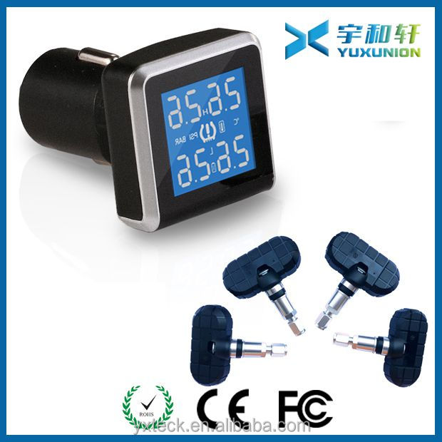 Tire pressure monitoring system for CASKA motorcycle tpms