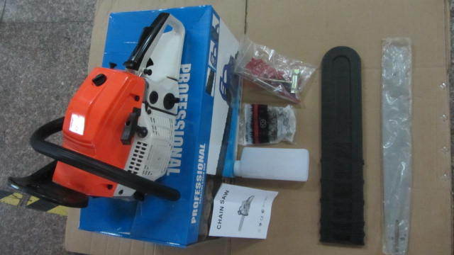 garden equipment 52cc petrol chainsaw for sale