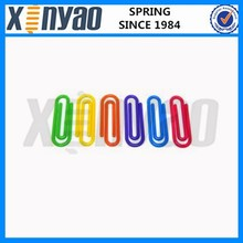 Colorful China made plastic paper clips