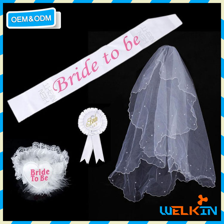Cheap custom hen party supplies, Bachelorette kit decorations, Bride to be tiara hot sale