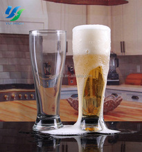Custom Cold Color Changing Beer Glass German Beer Glass For Hotel Bar