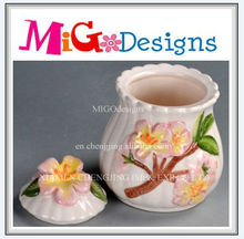 Best Selling Handicraft Ceramic Candy Jar Cheap With Customer Design
